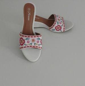 Forever slip on sandals